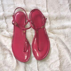 Loft hot pink sandals